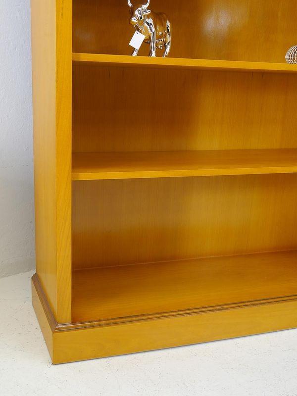 Regal Bücherregal Wandregal in Eibe im englischen Stil mit Intarsien (5431) – Bild 3