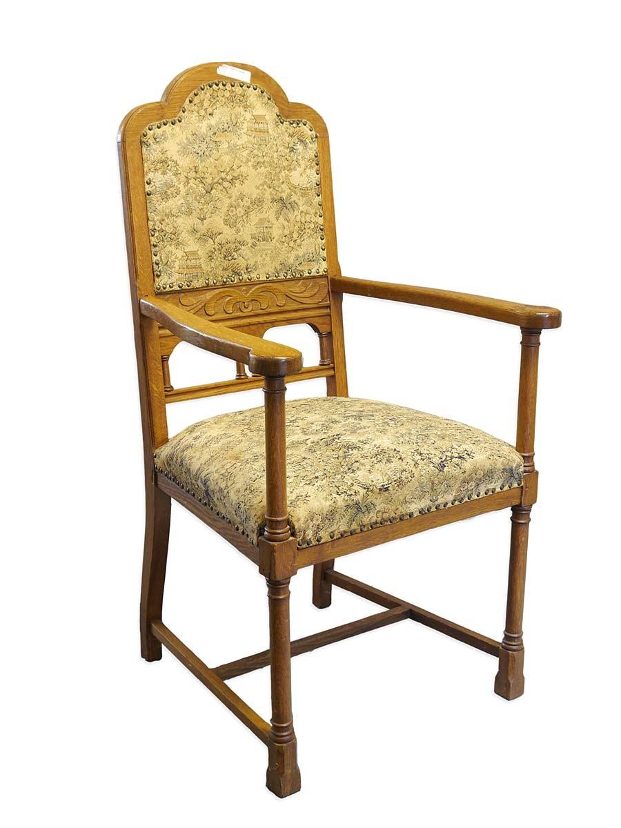 armlehnstuhl stuhl sitzm bel antik um 1940 eiche massiv 5500 m bel sitzm bel st hle. Black Bedroom Furniture Sets. Home Design Ideas