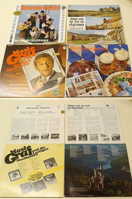 45 LPs der Volksmusik Vinyl mit Sammelalbum Schlager Hits Heimatmusik (5566) – Bild 2