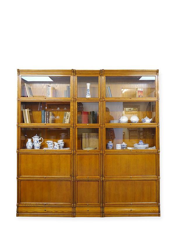 Buromobel Kombi Regalwand Schreibtisch Armlehnstuhl Esche Medium