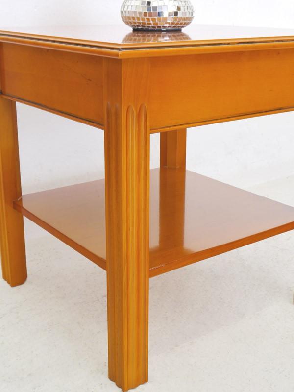 beistelltisch couchtisch wohnzimmertisch englischer stil eibe intarsien 6079 m bel tische. Black Bedroom Furniture Sets. Home Design Ideas