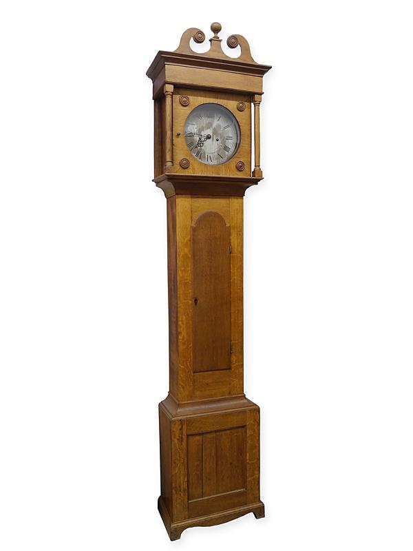 Standuhr Bodenstanduhr Uhr Antik um 1850 Sharp Northampton (6286) – Bild 1