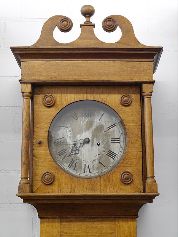 Standuhr Bodenstanduhr Uhr Antik um 1850 Sharp Northampton (6286) – Bild 2