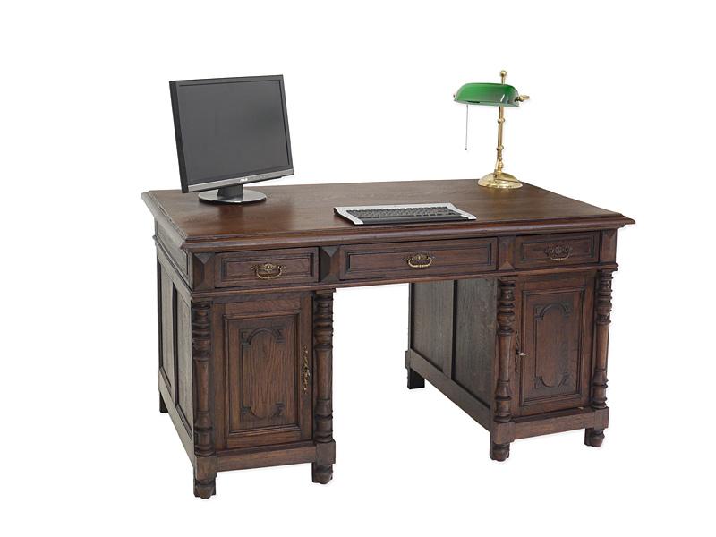 schreibtisch antik b roschreibtisch gr nderzeit um 1880. Black Bedroom Furniture Sets. Home Design Ideas