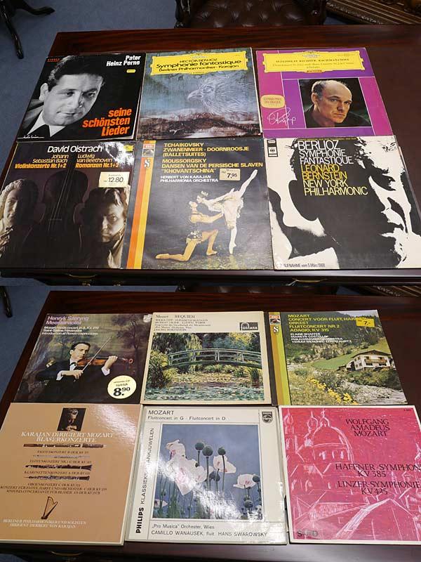 72 LPs Vinyl Langspielplatten Schallplattenkonvolut Klassik (6665) – Bild 4