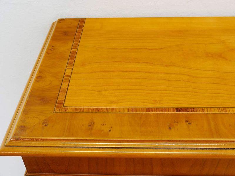 Regal Bücherregal Büroregal Eibe englischer Stil B 160 cm DIN A4 Ordner (719) – Bild 2