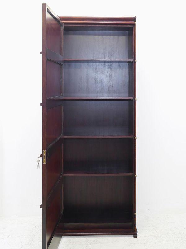 Aktenschrank Bücherschrank Schrank Studio Globe Wernicke aus Mahagoni (8251) – Bild 3