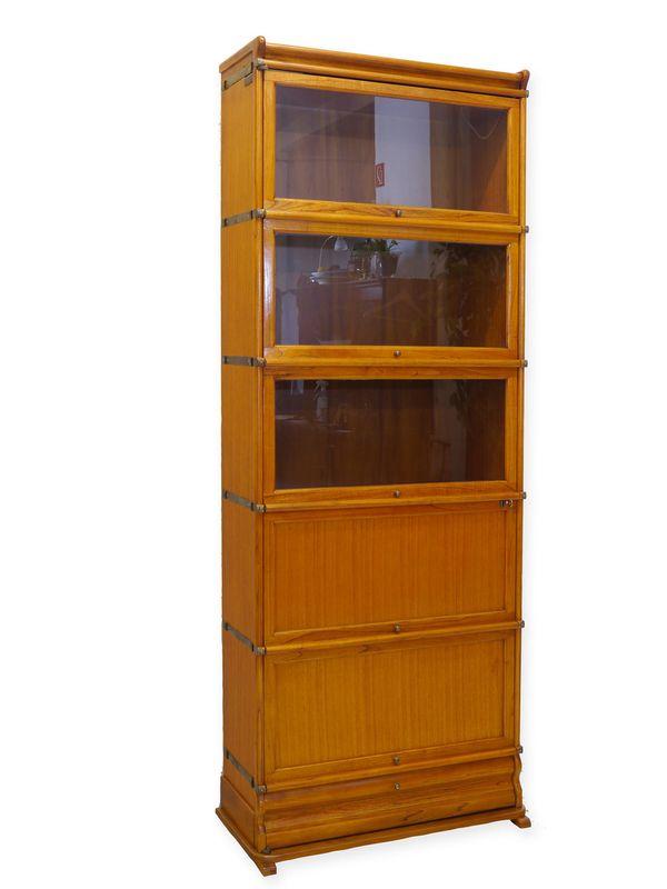 Aktenschrank Bücherschrank Schrank Studio Globe Wernicke aus Mahagoni (8321) – Bild 1