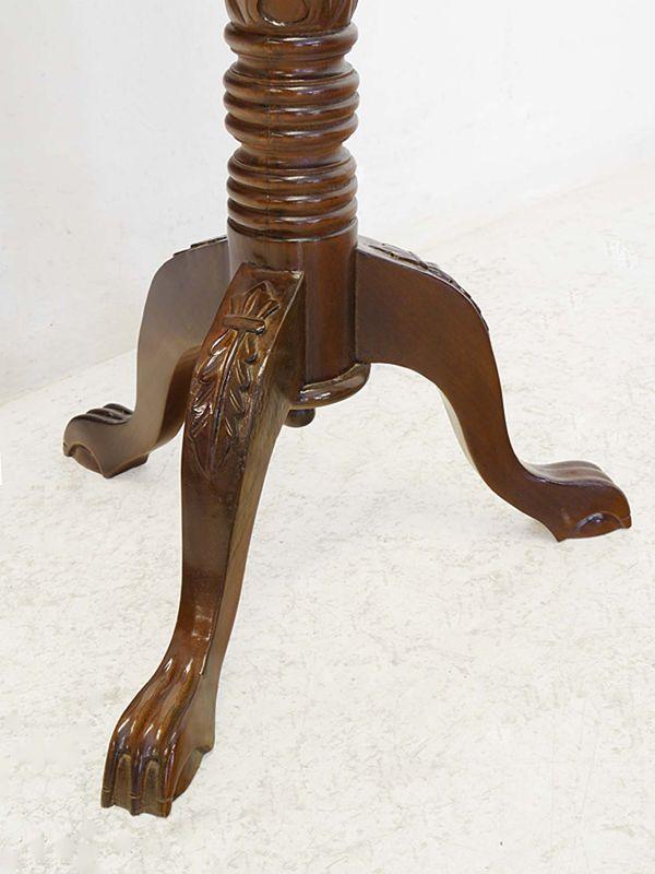 Stehpult Rednerpult Schreibpult Antiker Stil Massivholz Nussbaum-Farbton (8359) – Bild 5
