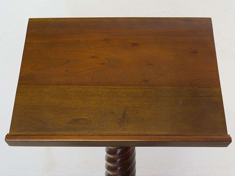 Stehpult Rednerpult Schreibpult Antiker Stil Massivholz Nussbaum-Farbton (8359) – Bild 2