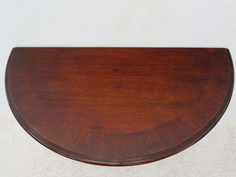 Wandtisch Tisch Wandkonsole aus Mahagoni im englischen Stil B: 99 cm (8466) – Bild 2