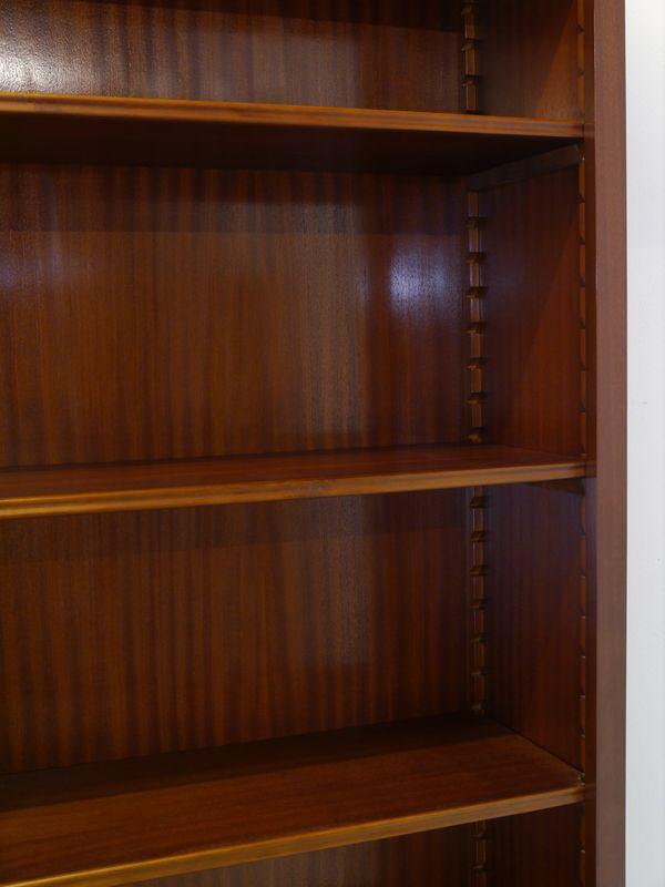Regal Bücherregal Mahagoni im englischen Stil für Bücher und Ordner (8599) – Bild 5