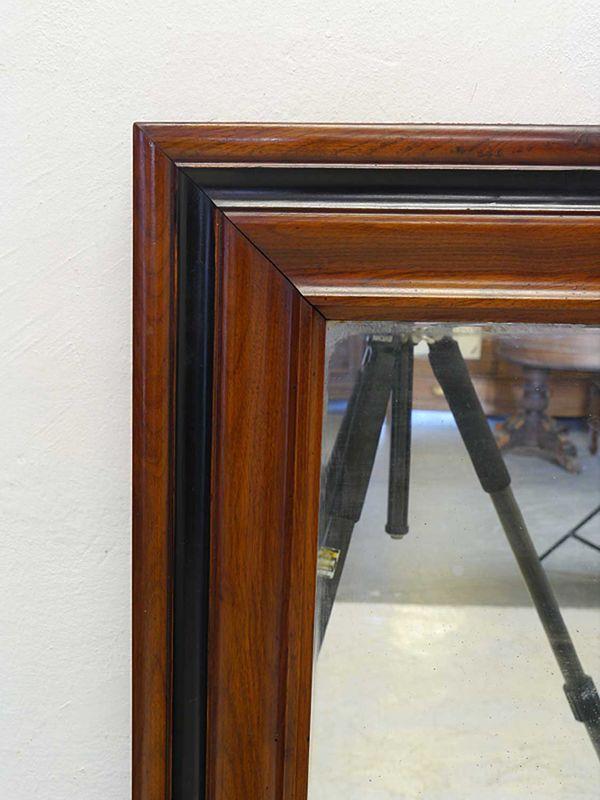 Spiegel Wandspiegel Garderobenspiegel Antik Stil Mahagoni 60x134,5x4,5 cm (8882) – Bild 2