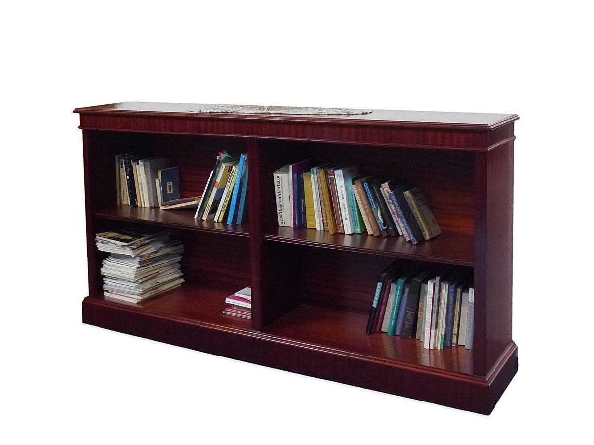 regal b cherregal b ro mahagoni 1 80m breit wie antik din a4 ordner 905. Black Bedroom Furniture Sets. Home Design Ideas