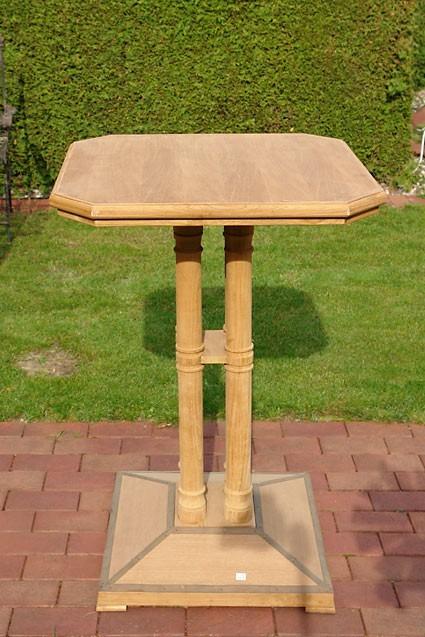 Bartisch TEAK Gartentisch Teakholz Natur Tisch (909) – Bild 1
