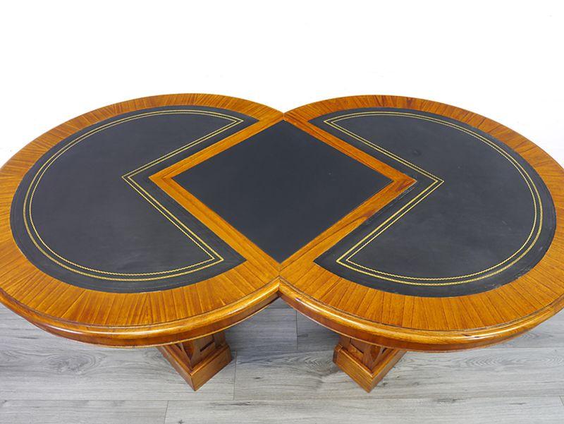 Konferenztisch Besprechungstisch Studio Globe Wernicke Antik Stil L:166cm (9137) – Bild 3