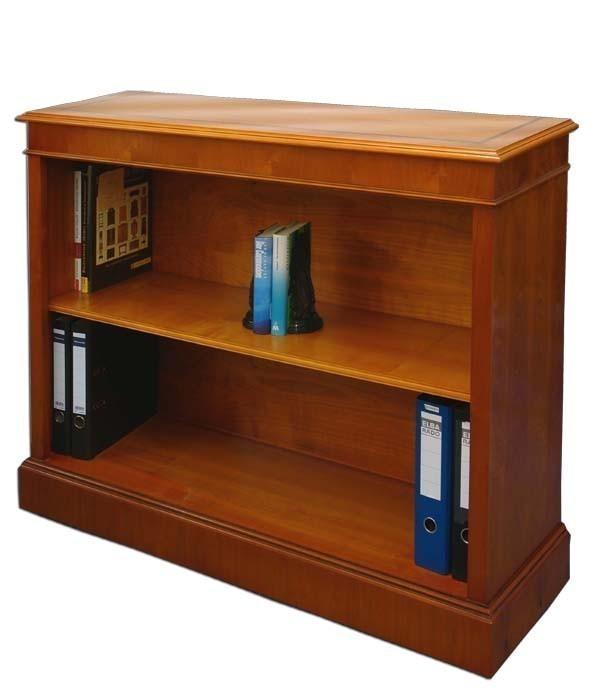 Regal Bücherregal Büro Eibe 120cm wie antik DIN A4 Ordner (948) – Bild 1