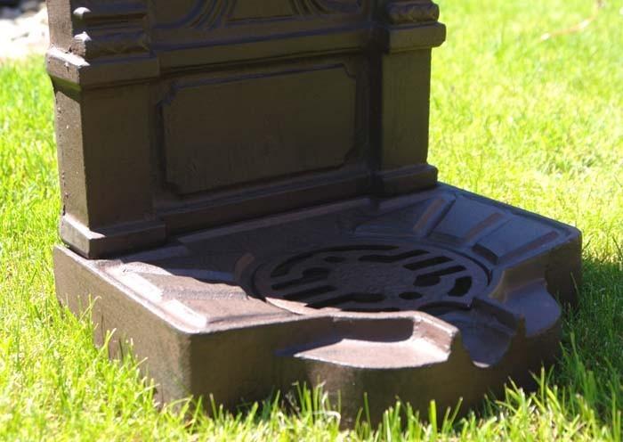 Standbrunnen Brunnen Wandbrunnen braun Jugendstil H 77 wie antik (967) – Bild 2
