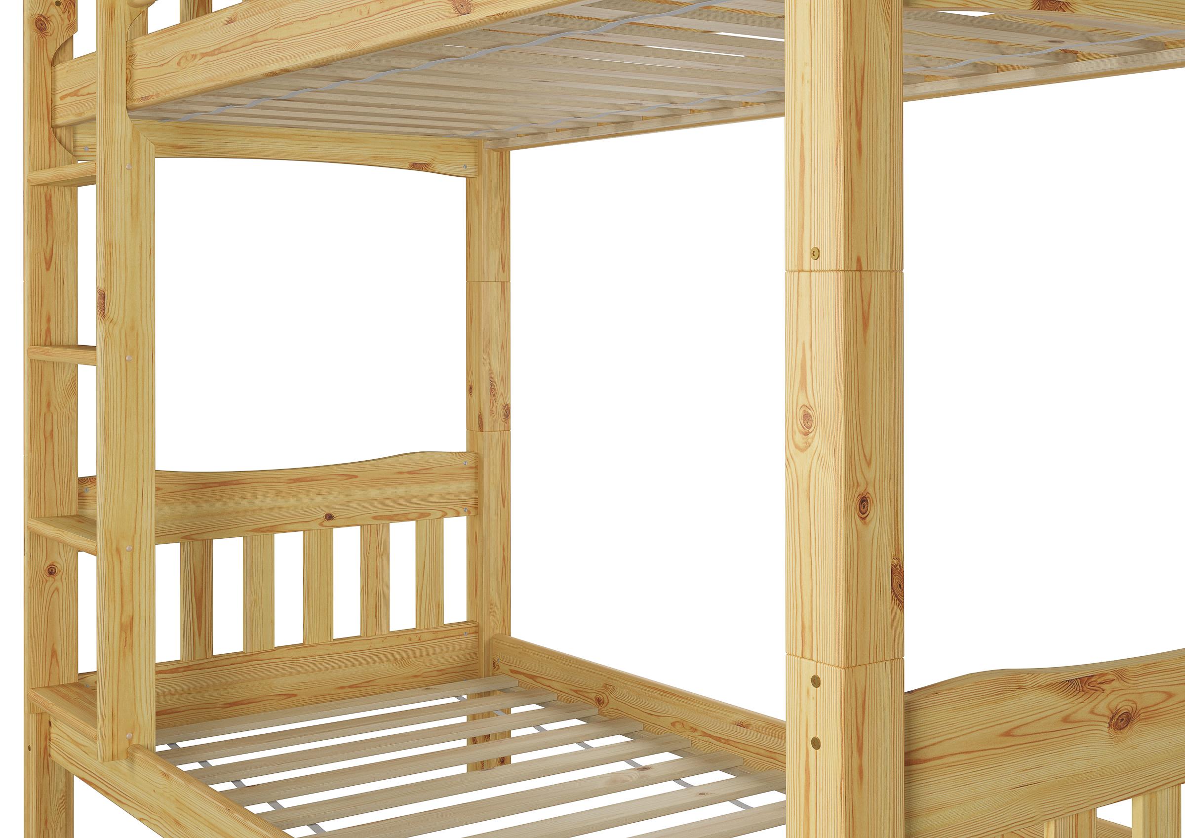 Etagenbett Kiefer Massiv : Ni s etagenbett kiefer massiv rollroste
