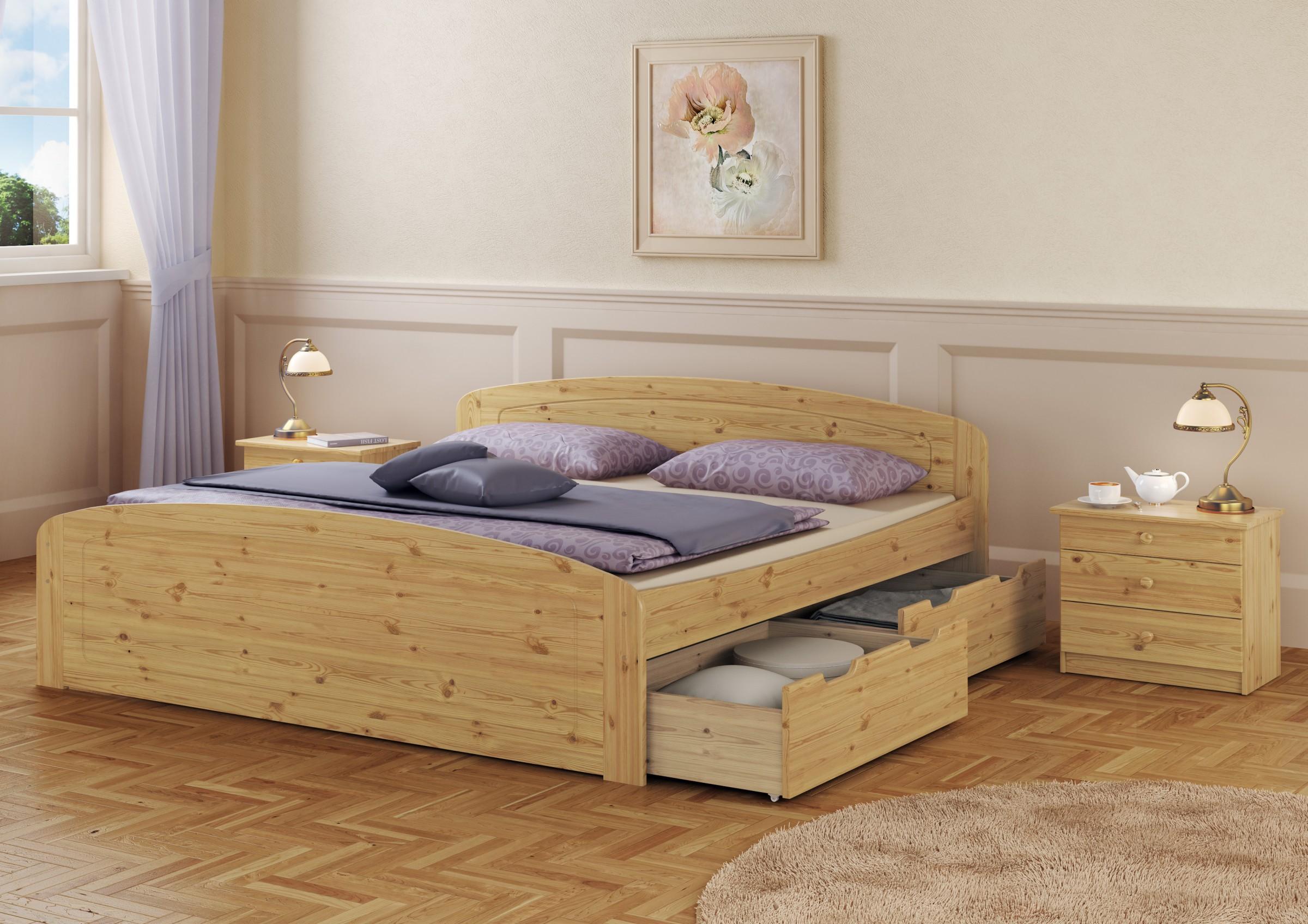 Doghe In Legno Letto Matrimoniale : Letto doppio 200x200 cassettoni per letto rete a doghe letto per