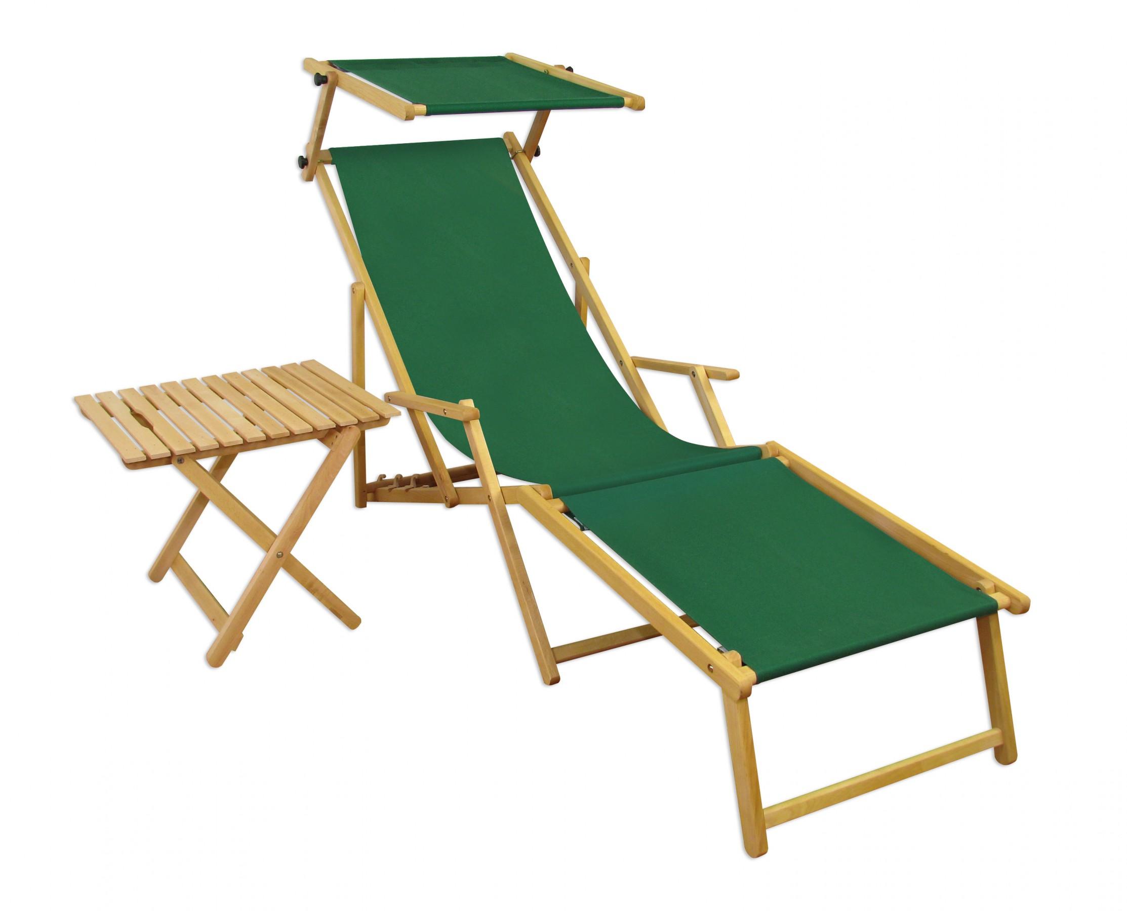 Relaxliege vert transat pour jardin fauteuil de plage for Chaise longue jardin verte
