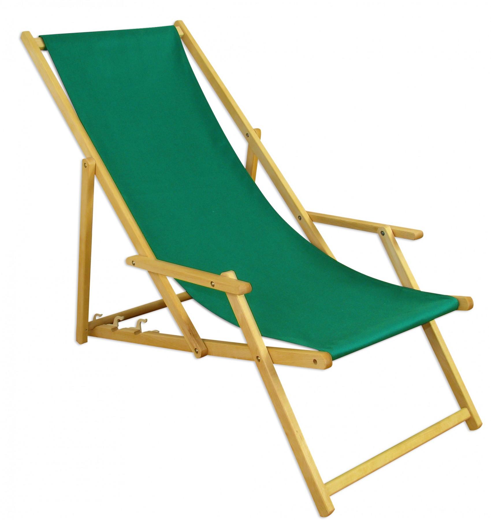 Chaise de Jardin Lit Soleil Plage Toit Ouvrant Bois Meubles 10-304 ...