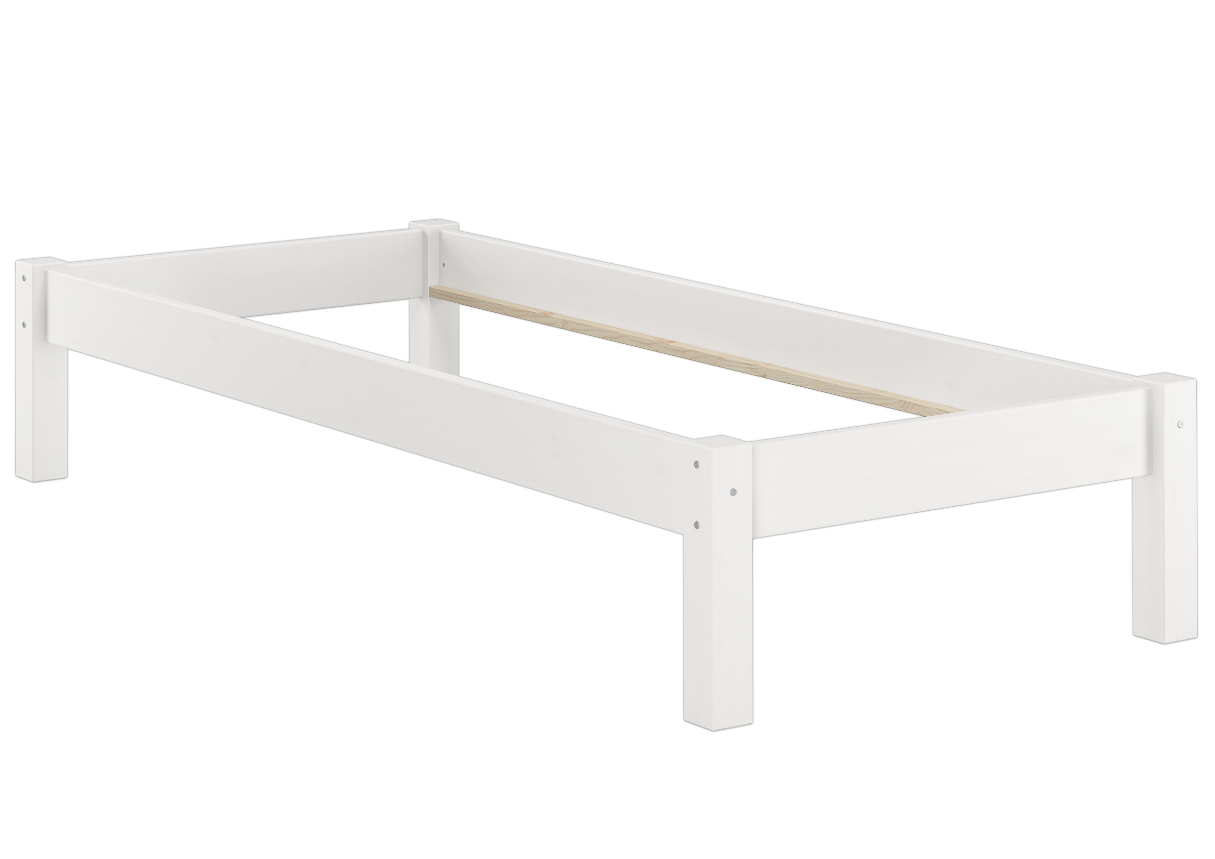 Solid White Pine Futon Bed For Mattress