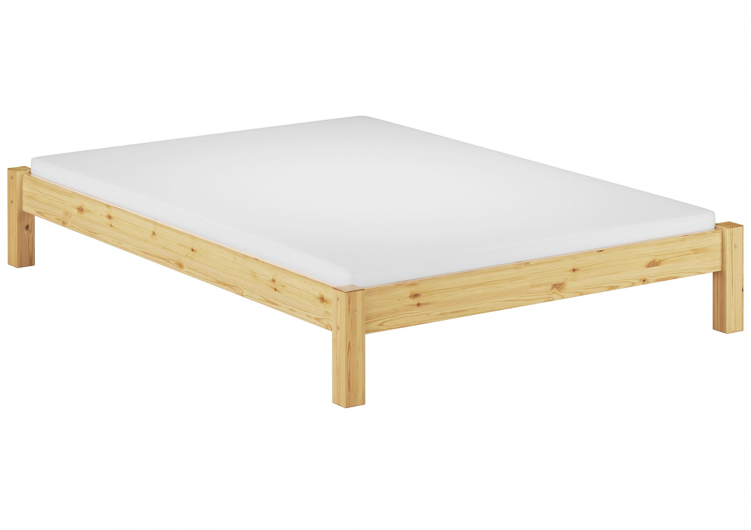 bettgestell kiefer einzelbett 120x200 massivholzbett matratze rollrost ebay. Black Bedroom Furniture Sets. Home Design Ideas