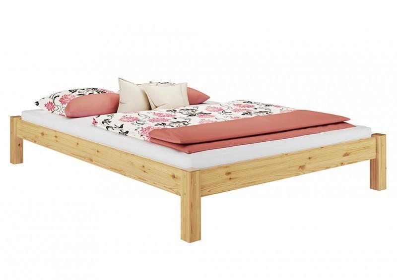 Base Letto Legno : Telaio letto pino letto singolo letto legno massello