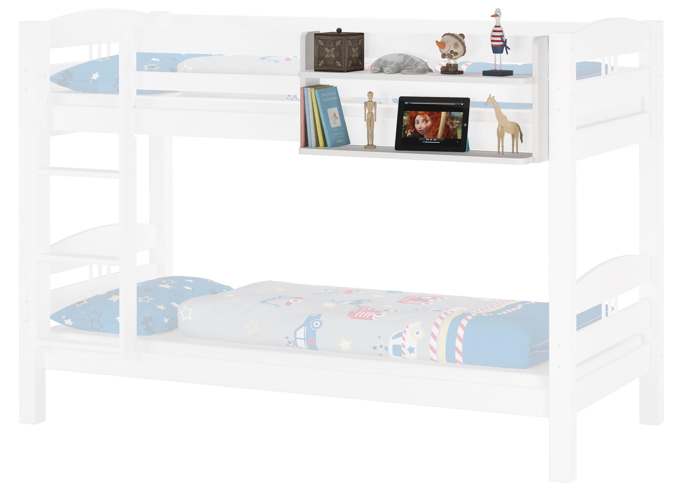 Malerisch Weißes Regal Foto Von Weißes Wandregal Bücherregal Kiefer Massiv Für Etagenbetten
