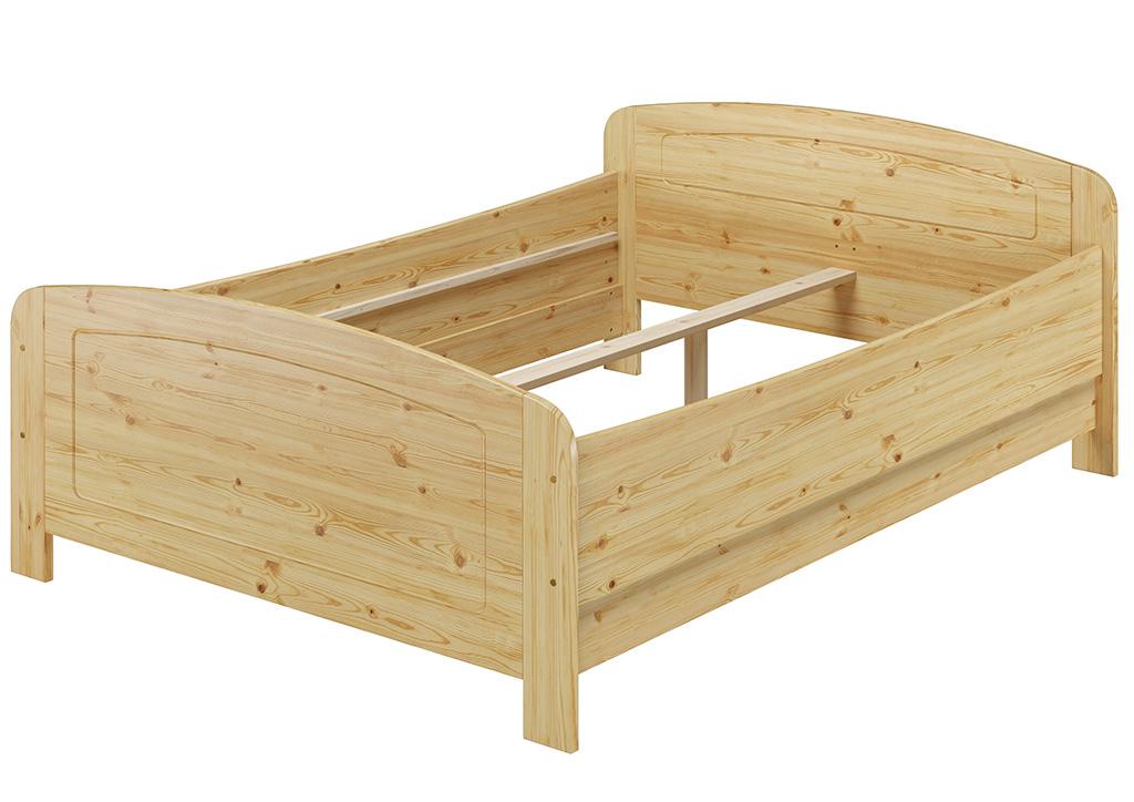 seniorenbett extra hoch 140x200 doppelbett holzbett kiefer bett fv m 4250639521209 ebay. Black Bedroom Furniture Sets. Home Design Ideas