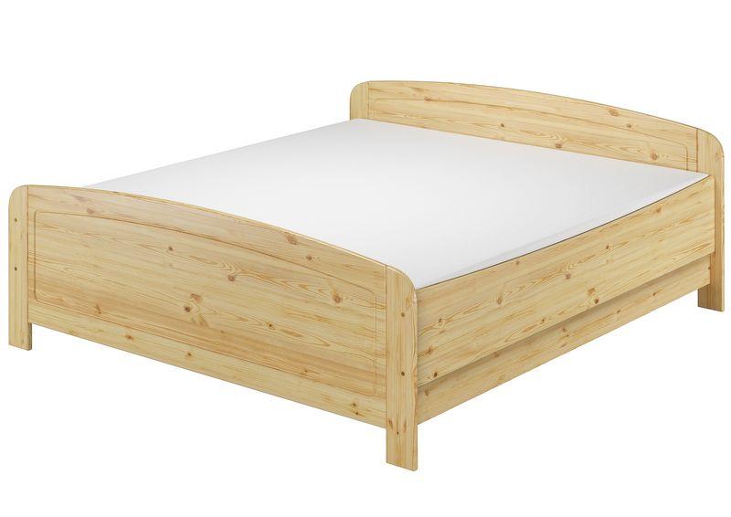 seniorenbett extra hoch 180x200 doppelbett holzbett massivholz kiefer m ebay. Black Bedroom Furniture Sets. Home Design Ideas