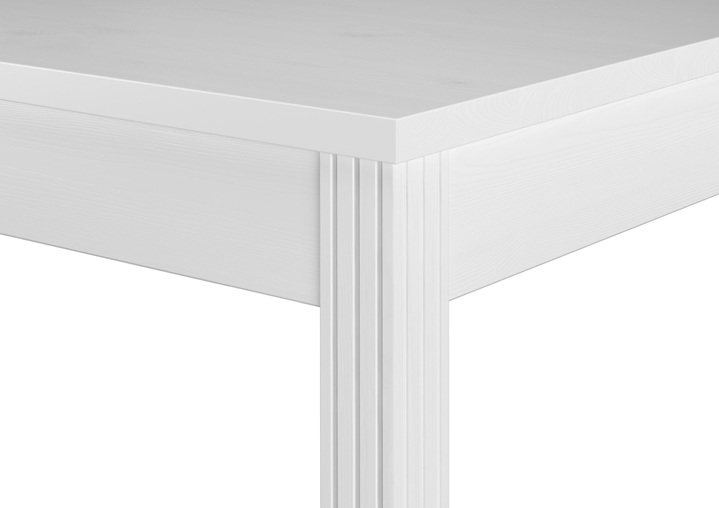 Schöne Essgruppe mit Tisch und 4 Stühle Kiefer Massivholz waschweiß ...