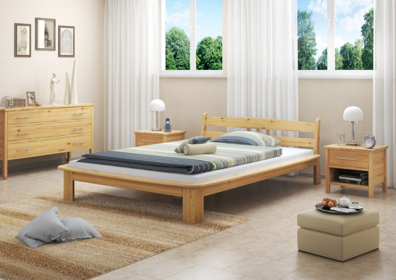 futonbett 140x200 holzbett kiefer massivholzbetten bett holz massiv 4250639540019 ebay. Black Bedroom Furniture Sets. Home Design Ideas