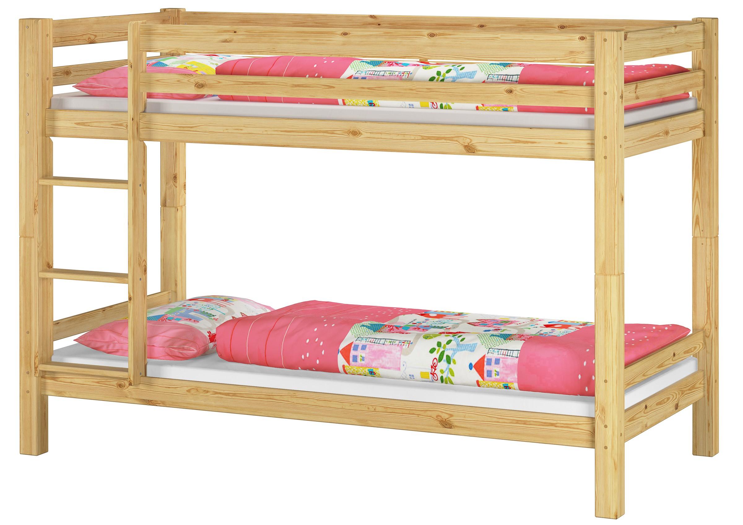 etagenbett massivholz kiefer rollrost 90x200 stockbett kinderbett ebay. Black Bedroom Furniture Sets. Home Design Ideas
