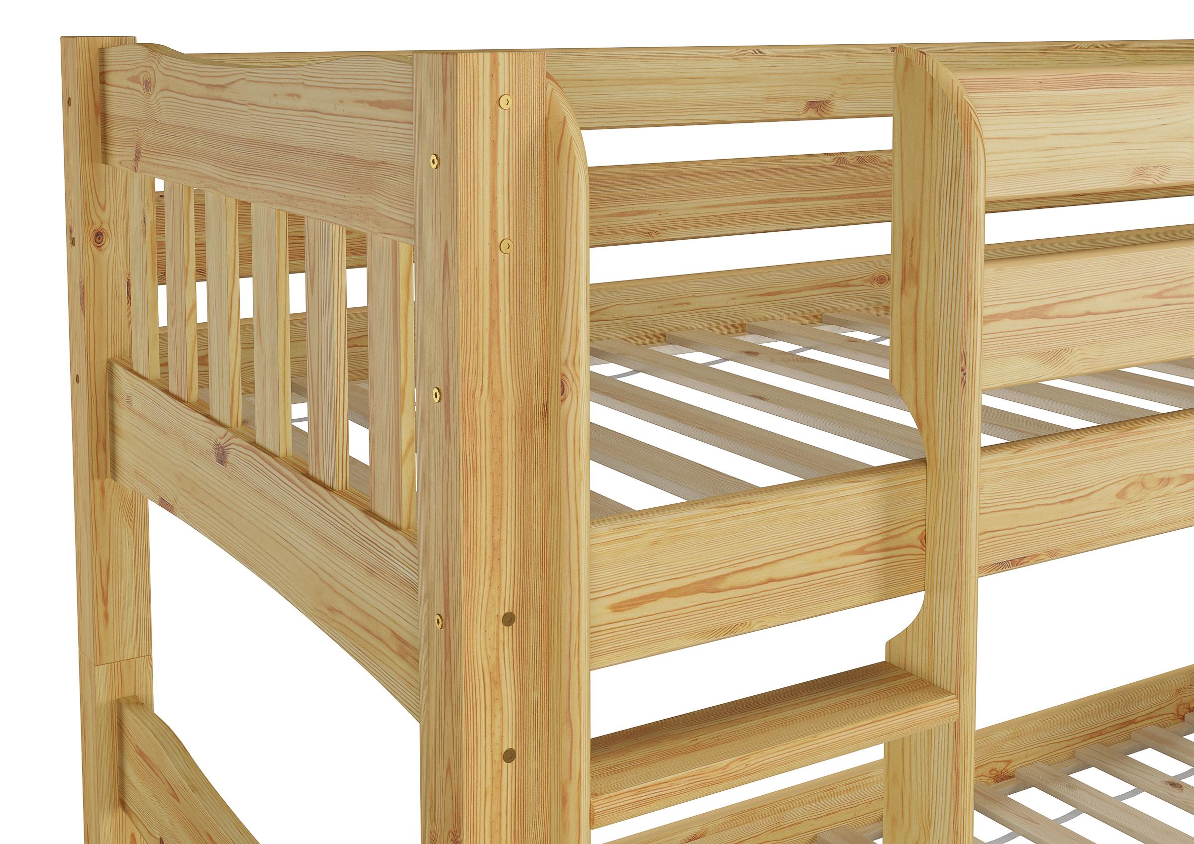 Etagenbett Nische 100 : Etagenbett hochbett st aus metall teilbar in einzelbetten x