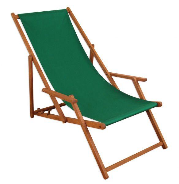 Détails sur Chaise Longue Vert Bois Lit Soleil Transat pour Jardin  Relaxliege Hêtre 10-304