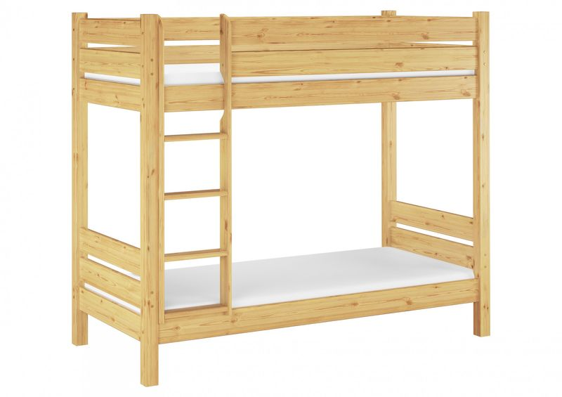 Solid Bunk Bed Of Pine Eco 80x200 Also