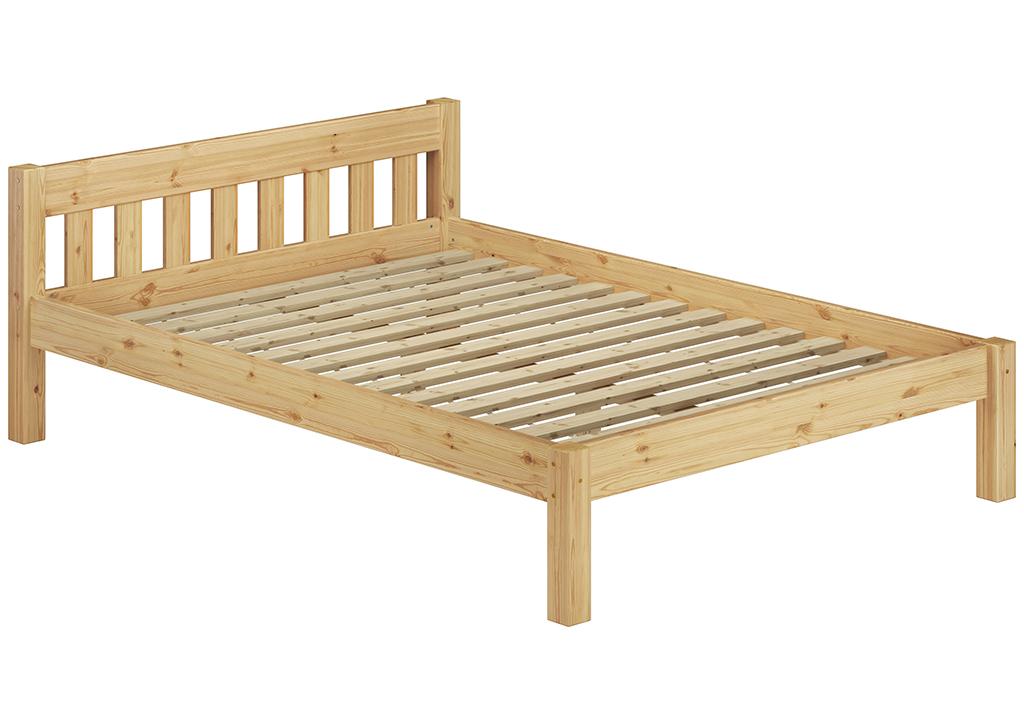 letto doppio legno massello 140X200 PINO Griglia a rullo U Materasso ...