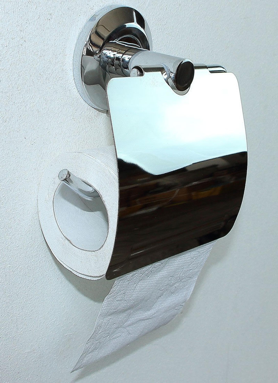 toilettenpapierhalter papierhalter rollenhalter bad wc klopapierhalter wc14w ebay. Black Bedroom Furniture Sets. Home Design Ideas