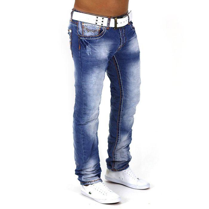 Herren Jeans Delicious ID1031 (Gerades Bein) – Bild 2