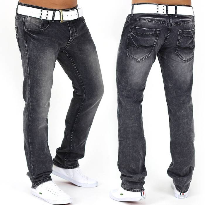 Herren Jeans Oldcool ID1049 Straight Fit (Gerades Bein)