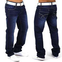 Herren Jeans Hotstone ID1058 regular Fit (Gerades Bein) dunkelblau