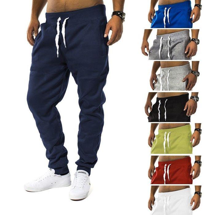Herren Jogging Hose Fit & Home Sweat Pant Sporthose H1128 – Bild 1