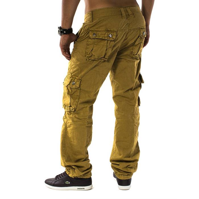 Herren Cargohose Men Trophy ID 1131 Straight Fit   – Bild 4