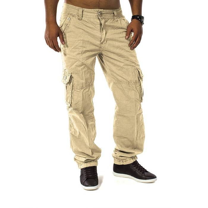 Herren Cargohose Men Trophy ID 1131 Straight Fit – Bild 11