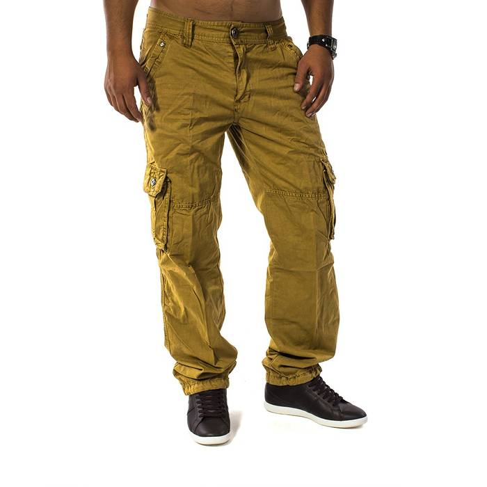 Herren Cargohose Men Trophy ID 1131 Straight Fit – Bild 2