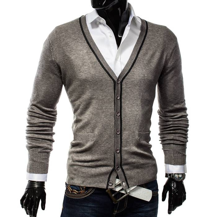 Herren Cardigan Easy Club H1137   – Bild 12
