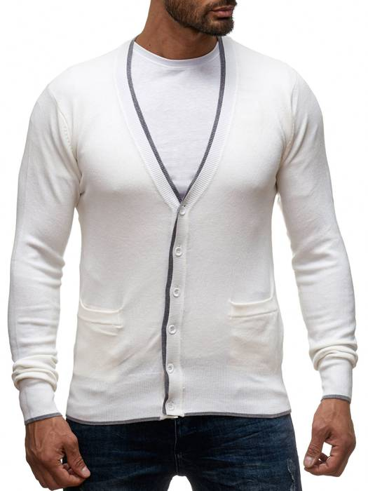 Herren Cardigan Easy Club H1137   – Bild 5