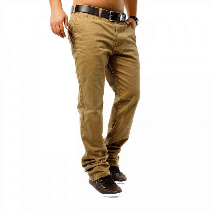 Herren Chino Hose DSN ID1146 Straight Fit   – Bild 4
